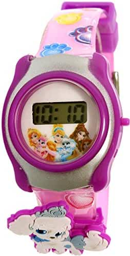 Disney PPPKD001 Princess Puppies and Dog LCD Character Watch