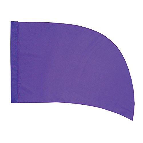 DSI Color Guard Practice Flag (PCS) - Arced - Purple