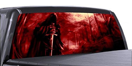 Compare Price Grim Reaper Rear Window Graphics On
