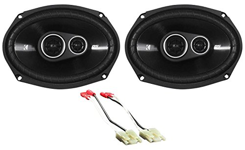 6x9 Kicker DSC Rear Deck Speaker Replacement Kit for 1984-1991 Cadillac Seville