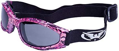 Global Vision Eyewear Shetah Goggles, Smoke Tint Lens