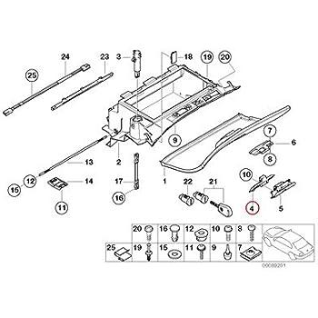 Genuine BMW E46 Hood Safety Catch Lock w// Latch Kit 323Ci 325Ci 328Ci 330 M3 OEM