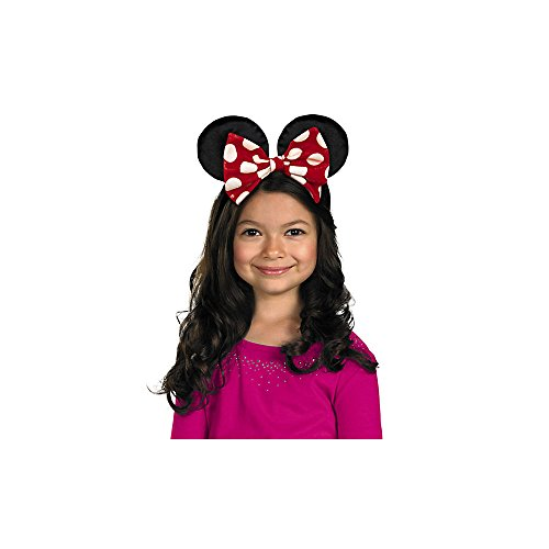Make Fantasia Mickey Costume (Disguise Disney Mickey Mouse Minnie Mouse Ears Accessory, One Size Child)