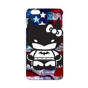 HUTGUF 3D Case Cover Cartoon Batman Hello Kitty Phone Case for iPhone6 plus