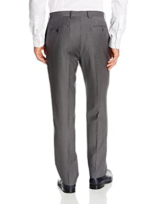 Calvin Klein Men's Mabry Extra Slim Fit Gray Micro Stripe Suit