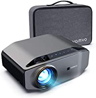 """Projector for Outdoor Movies, vamvo L6200 1080P Full HD Video Projector with max 300"""" Display, 5000Lux, Ideal for..."""