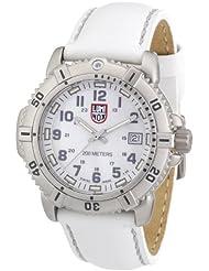 Luminox Womens A.7257 ModernMarine Analog Display Quartz White Watch