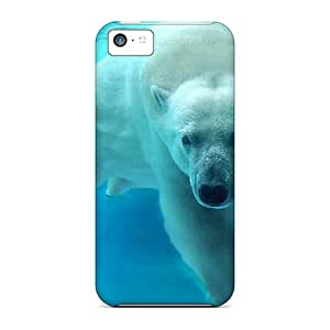 Unique Design Iphone 5c Durable Cases Covers Polar Bear
