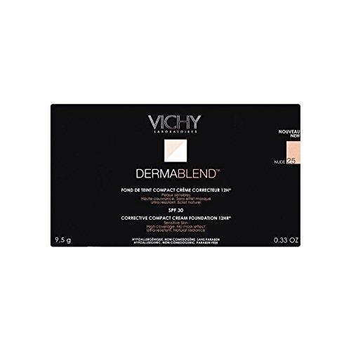 25ヌードヴィシー是正コンパクトクリームファンデーション x2 - Vichy Dermablend Corrective Compact Cream Foundation Nude 25 (Pack of 2) [並行輸入品] B071KWJTZB