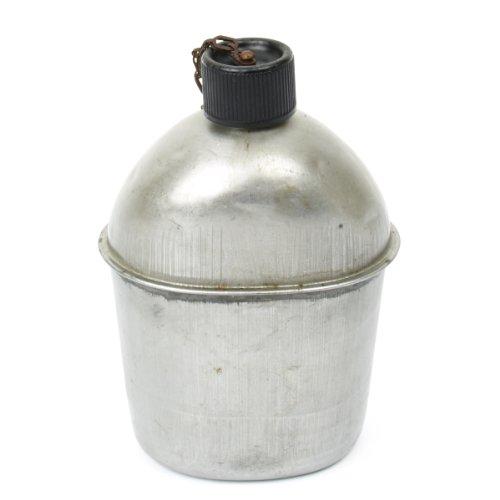 Original U.S. WWII M1942 Aluminum Canteen Bottle- WW2 Dated