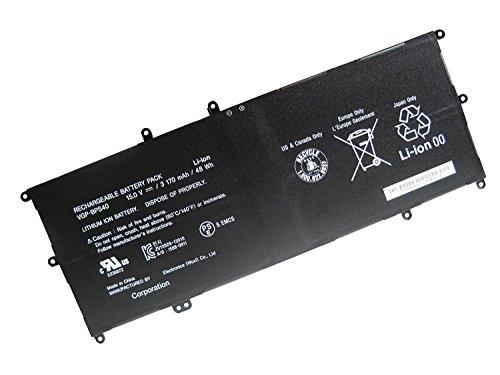 Batterymarket 15.0V 48WH 3170MAH VGP-BPS40 Battery Compatible with Sony Vaio Flip SVF 15A SVF15N17CXB SVF15NB1GL SVF15NB1GU SVF15NA1GL SVF15NA1GU SVF15N18PXB SVF15N26CXB SVF15N28PXB SVF15N23CGS (Flip Vaio)