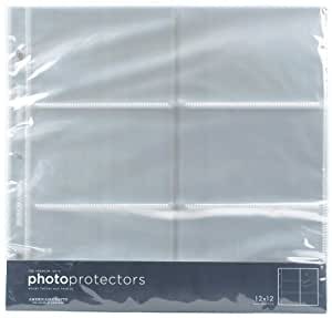 American Crafts  Photo Protector Sheets, 12 x 12-Inches, Pack of 1