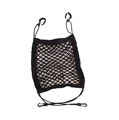 RIRI Car Universal Net Pocket Two-Story Storage Net Between Two Seats Multifunctional Bag Chair Back Pocket: Sports & Outdoors