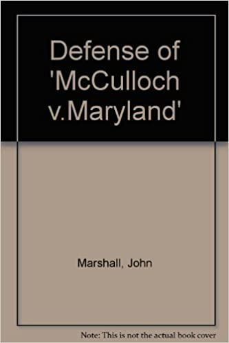 mcculloch v maryland court decision
