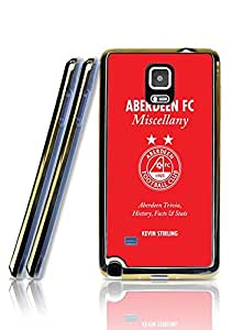 New Galaxy Note 4 Funda Case - Aberdeen Football Club Famous Unique Design Slicone Golden Border Series Back Skin Shell Funda Case Cover Phone Cover For Samsung Galaxy Note 4