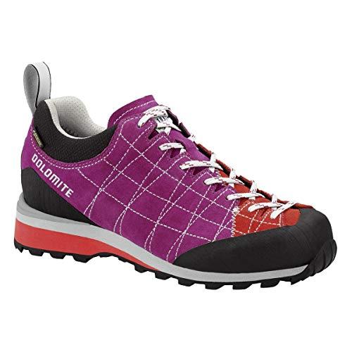 Dolomite Diagonal GTX Women - Pansy Purple/Hibiscus Red