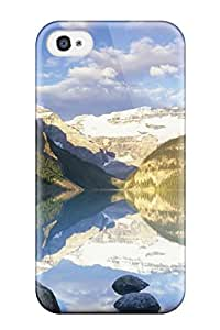 Premium Glacier National Park Back Cover Snap On Case For Iphone 4/4s 5525658K19314458