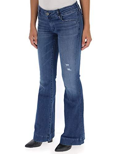 J Azul Algodon Jeans Brand Mujer Jb000386ej2339 wSR8q