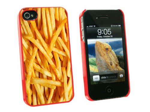 french fries case iphone 4 - 9