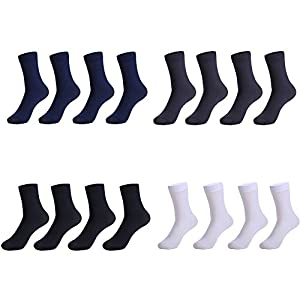 CHARHODEN Men's 16 Pairs Fashion Comfortable, Breathable Sports Casual socks Elastic Ankle Socks Suitable Business Men Socks