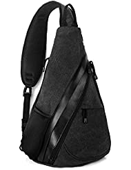 Unigear Sling Bag Backpack Shoulder Crossbody Bag Chest Pack-Medium Water Resistant Travel Backpack for Men Women