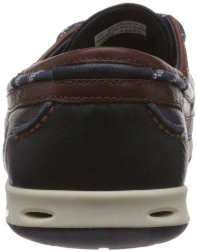 Clarks Sport Homme Orson Harbour Cuir Chaussures De Multicolore