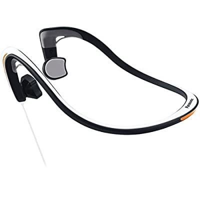 Panasonic RP-HGS10-G Open-Ear Bone Conduction Headphones with Reflective Design