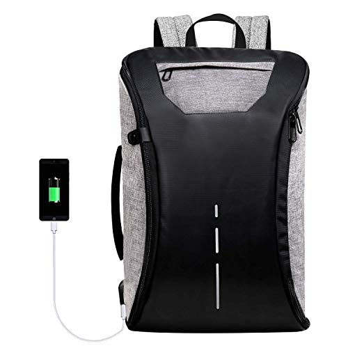 SWAGG Antitheft Multipurpose Backpack with Power Bank