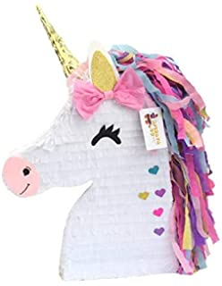 Amazon.com: Lytio Unicorn Pinatas for Birthday Party Full ...