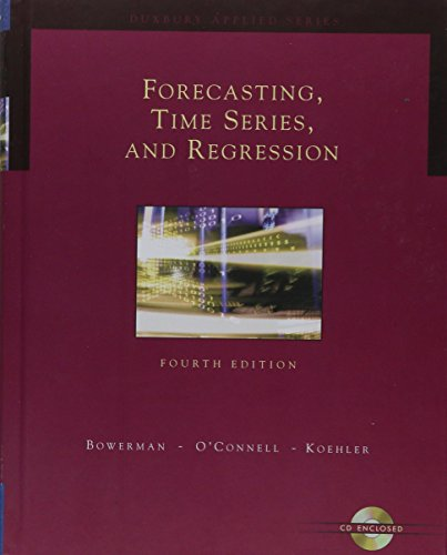 Forecasting, Time Series, and Regression (with CD-ROM) (Forecasting, Time Series, Regression)