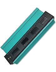 Irregular Contour Gauge Duplicator Perfil Medidor Herramienta de medici/ón 4 pulgadas de pl/ástico Contour Copy Duplication Meter azulejos laminados Duplicador de madera Marking Tackle