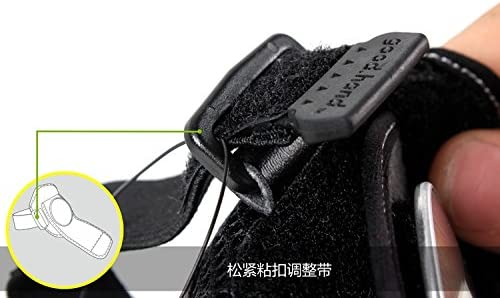 Una Bicycle Mirror Bicycle Rearview Mirror with Wrist Strap arm
