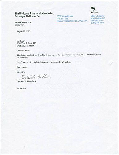 gertrude-b-elion-typed-letter-signed-08-29-1995