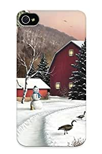 Flyinghouse New Arrival Iphone 4/4s Case New Year (38) Case Cover/ Perfect Design