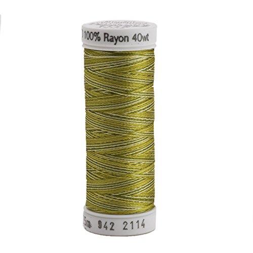 Sulky Rayon Thread for Sewing, 250-Yard, Vari Avocado