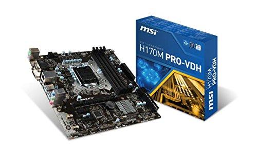 8. MSI H170M Pro-VDH Price
