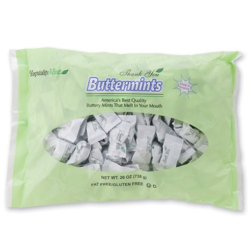 Hospitality Mints Buttermints, Individually Wrapped Mints...