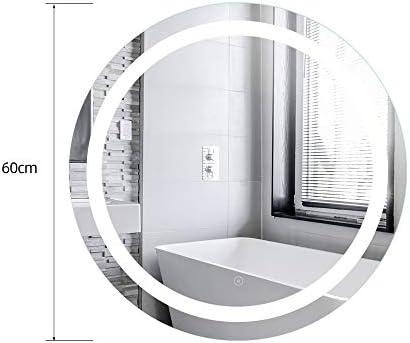 20W, Espejo baño, espejo baño con luz, Blanco frío + interruptor táctil + función antivaho: Amazon.es: Iluminación