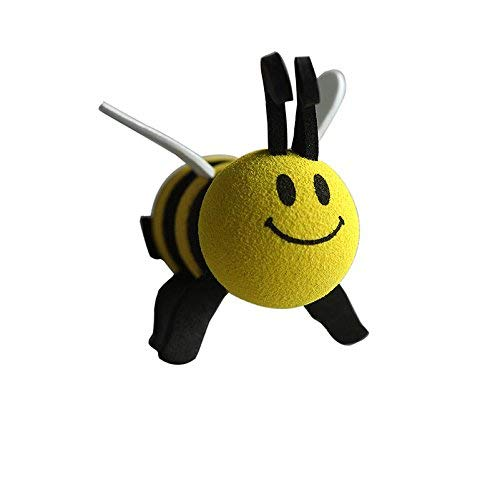 JiaUfmi Automobile Car Antenna Topper Eva Decorative Topper Balls, Bee