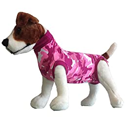 Suitical Recovery Suit for Dogs - Pink Camo - size XX-Small