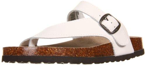White Mountain Women's Carly,White Leather,8 B US