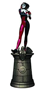 DC Chess Figure & Collector Magazine #17 Harley Quinn Black Queen by Eaglemoss