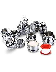Faucet Adapter Kit, 11 pcs Brass Aerator Adapter Set for Garden Hose, Water Filter, Standard Hose, Male Female Faucet Adapter for Sink