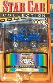 Matchbox Star Car Collection; Mork and Mindy Jeep by Matchbox
