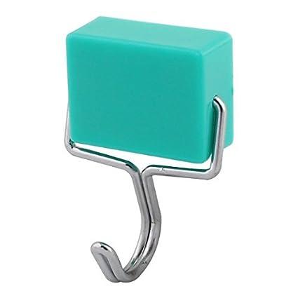 eDealMax magnética Oficina de cocina ropa de baño toalla utensilio de cocina gancho de la suspensión