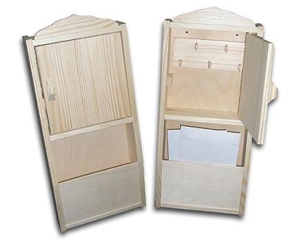 Nuevo Plain armario de llaves con organizador para cartas de ...
