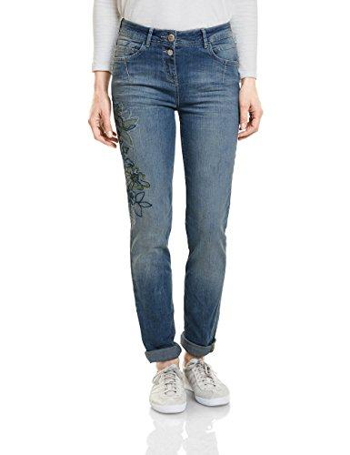 Wash Cecil Bleu Droit Blue Mid 10240 Used Femme Jean rr0qxfUT