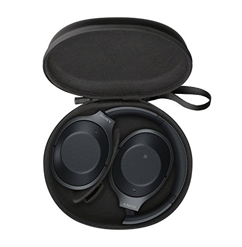 Sony Noise Cancelling Headphones WH1000XM2: Over Ear Wireless Bluetooth Headphones with Case - Black by Sony (Image #5)