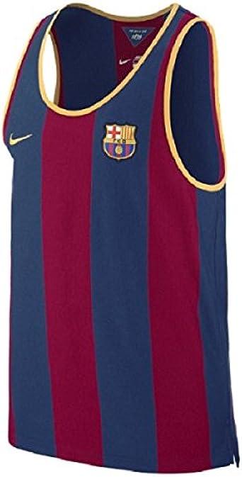 NIKE League FC Barcelona Authentic Tank Top Shirt - Camiseta ...