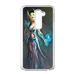 Custom Case Games World of Warcraft WOW For LG G2 Q3V532124